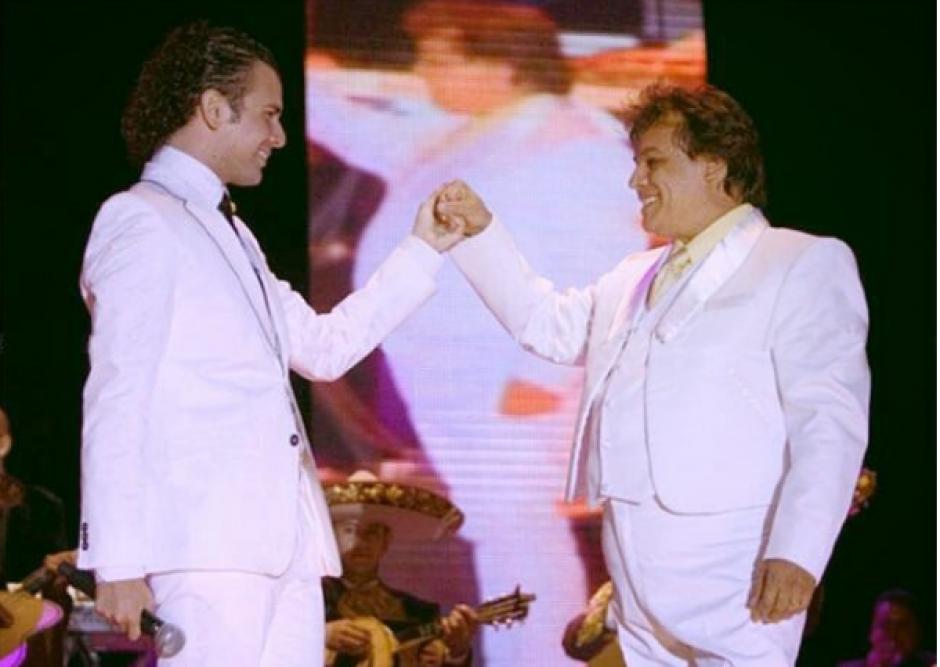 Juan Gabriel apadrinó la carrera de Jas Davael. (Foto: Instagram)