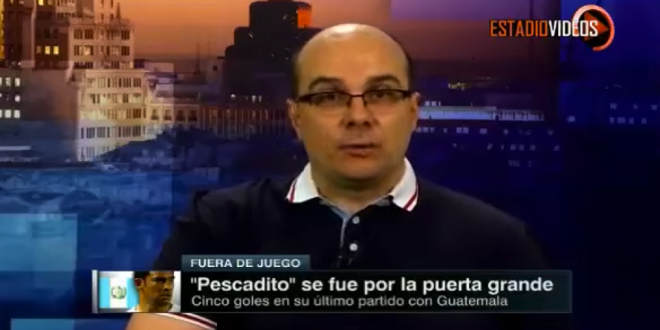 "Mister Chip comentó los número de Carlos ""el Pescadito"" Ruiz en eliminatorias. (Captura de video)"