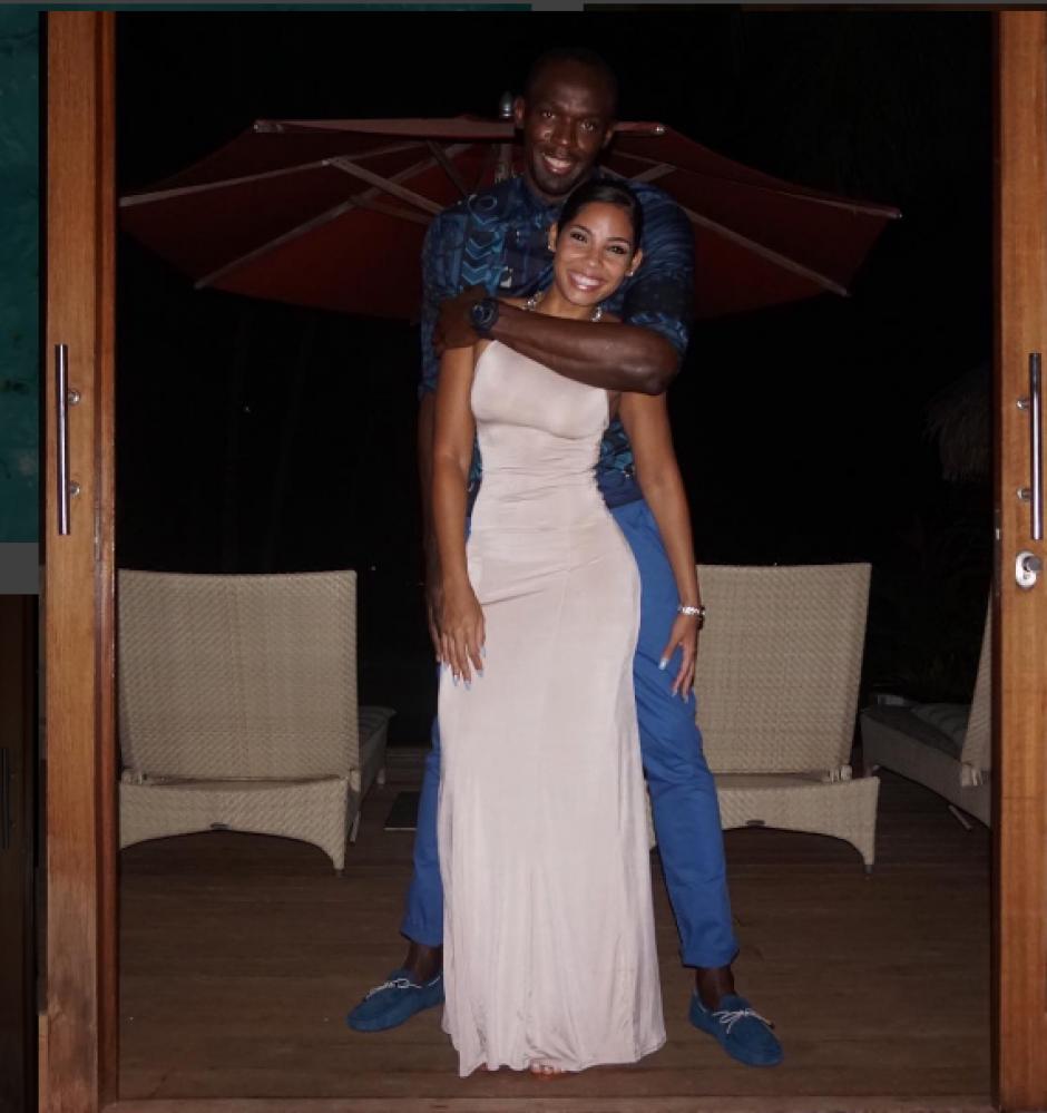 Bolt y su novia  Kasi Bennett en plenas vacaciones. (Foto: Instagram)