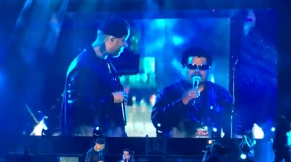 Nicky Jam conmovió a sus seguidores en pleno concierto en Perú. (Foto: Captura de Youtube)