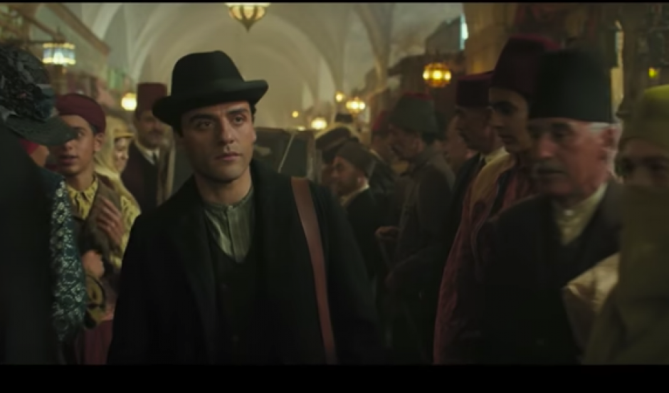 Isaac muestra su talento histriónico en The Promise. (Foto: Captura de video)