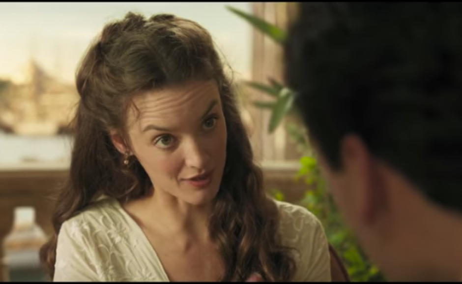 En The Promise, Christian Bale y Oscar Isaac comparte el amor de Charlotte le Bon. (Foto: Captura de video)