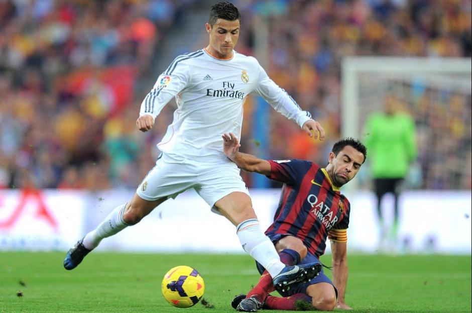 """""""Xavi nunca ganó un Balón de Oro"""", dijo Cristiano. (Foto: Marca)"""