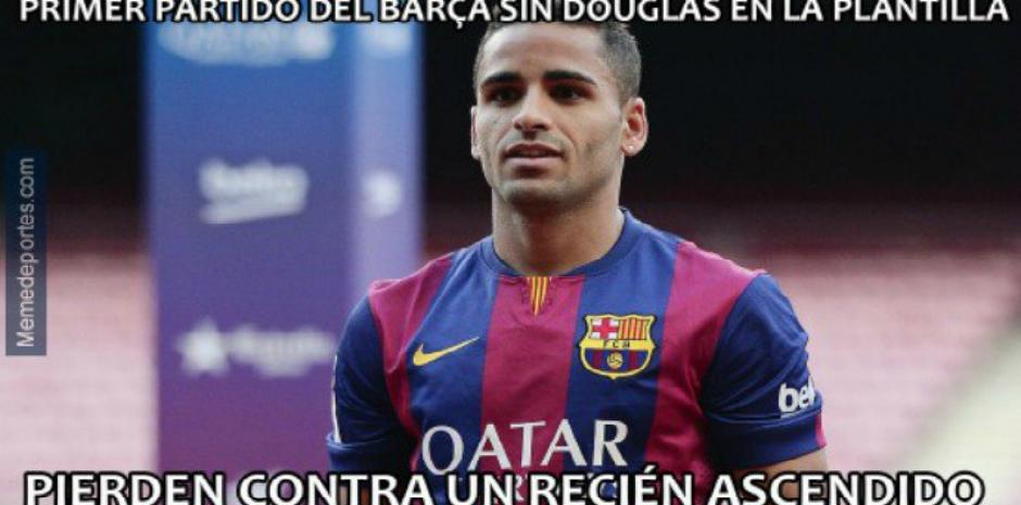 Hasta el pobre Douglas, que ya no está en el equipo, fue víctima. (MemeDeportes)