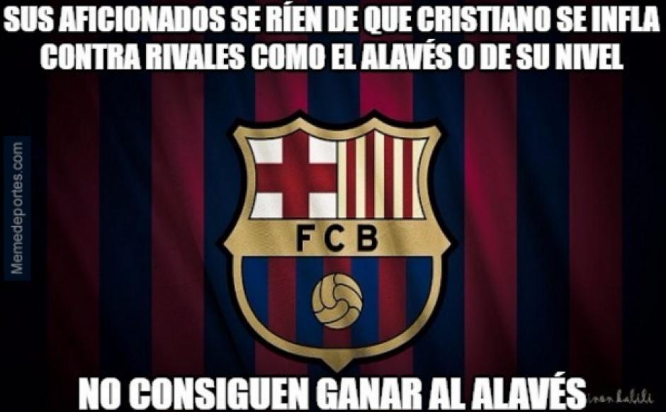 El Barcelona fue víctima de los memes tras perder en casa. (MemeDeportes)