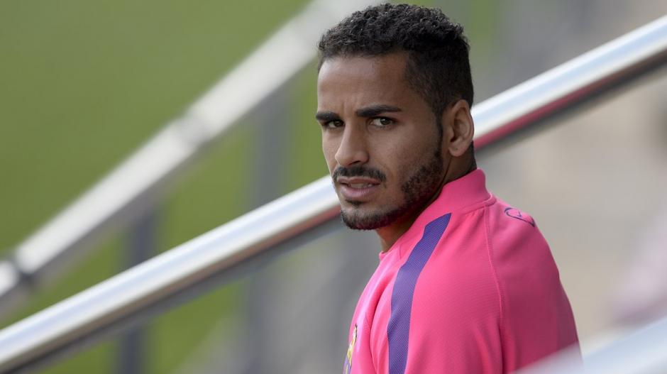 Douglas jugó ocho partidos en dos años con el Barça. (Foto: FCB)