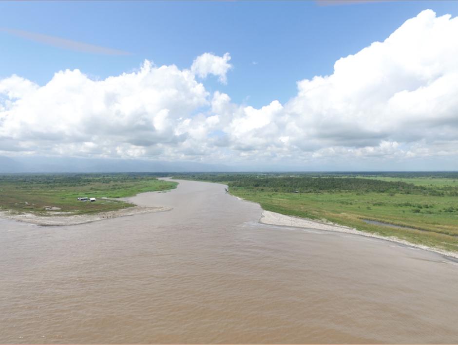 La problemática ha llegado a afectar las playas de Honduras, debido a que el río es compartido entre ambos países. (Foto: Carlos Cruz/Nuestro Diario)