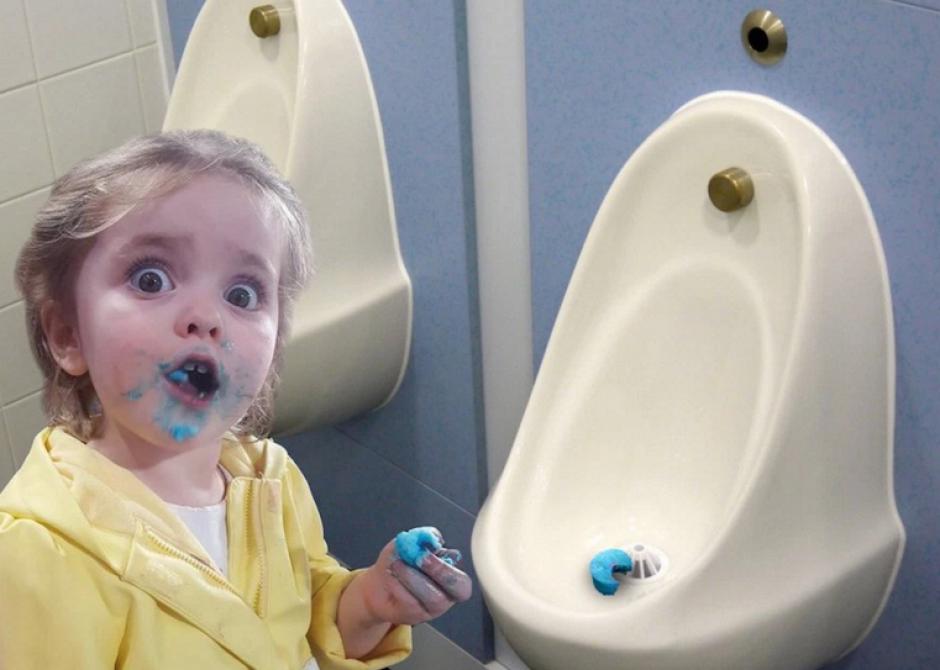Algunos hicieron referencia a otros objetos azules. (Foto: Sopitas.com)