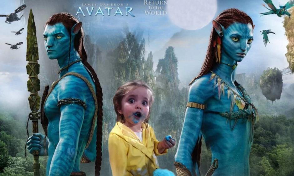 Hasta Avatar fue incluido entre los fotomontajes. (Foto: Sopitas.com)