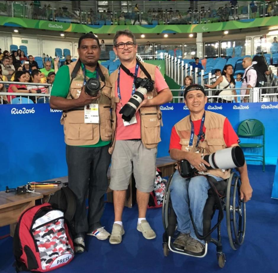 Joao Maia es parte de un grupo de fotógrafos discapacitados que cubren los Juegos Paralímpicos. (Foto: Joao Maia)
