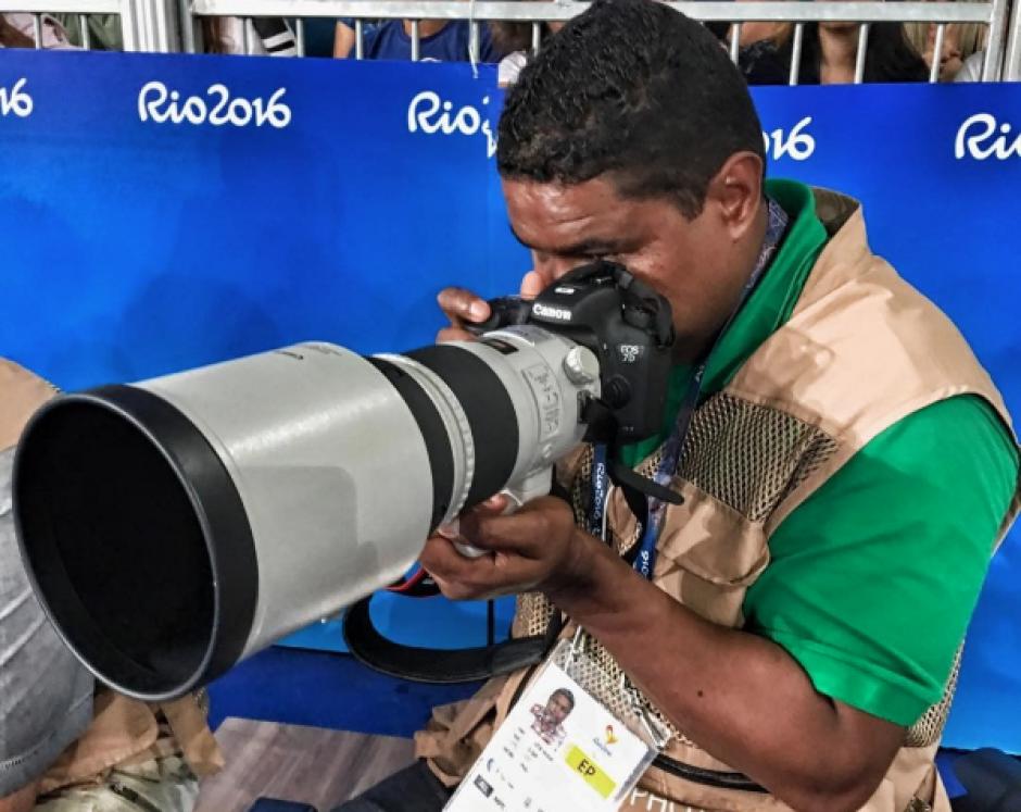 Joao ha experimentado en los Juegos Paralímpicos con la última tecnología de Canon. (Foto: Joao Maia)