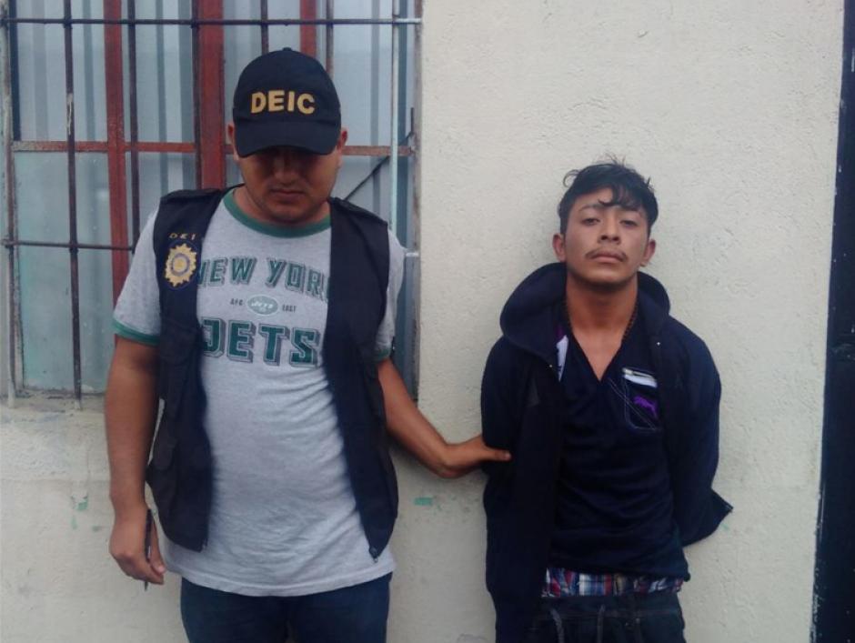 Johnny Alexander Reyes Lemus fue capturado por el asesinato de Ana Guerra Olmedo. (Foto: PNC)