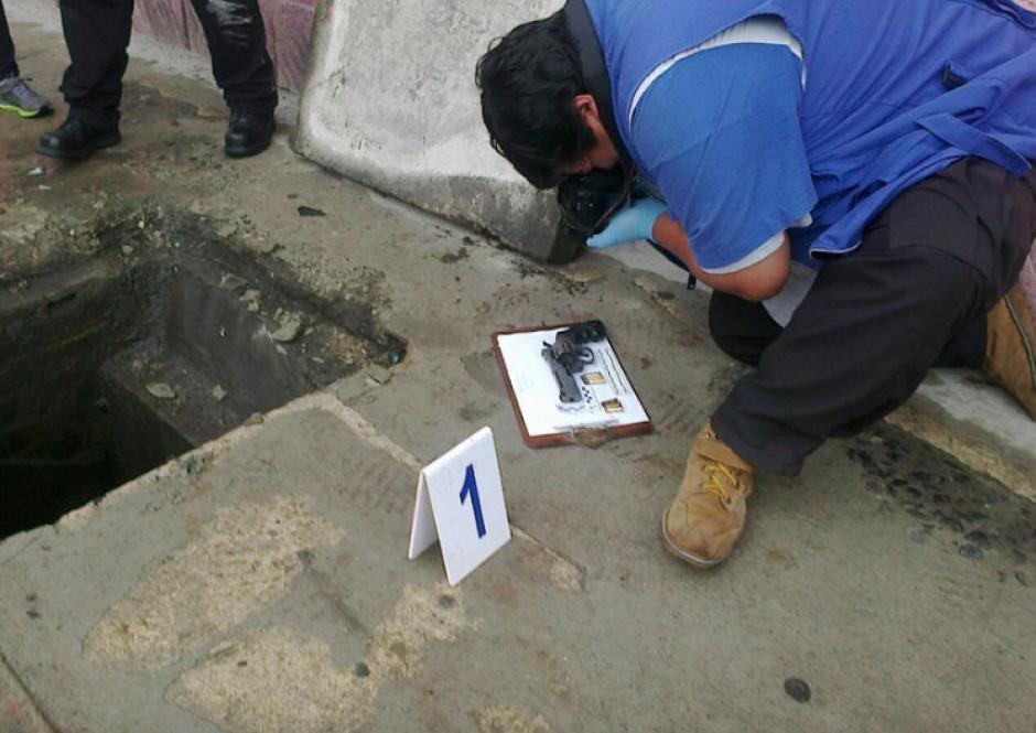 Un día después del ataque, la Fiscalía localizó la posible arma homicida a 40 metros de donde ocurrió el ataque. (Foto: Nuestro Diario)
