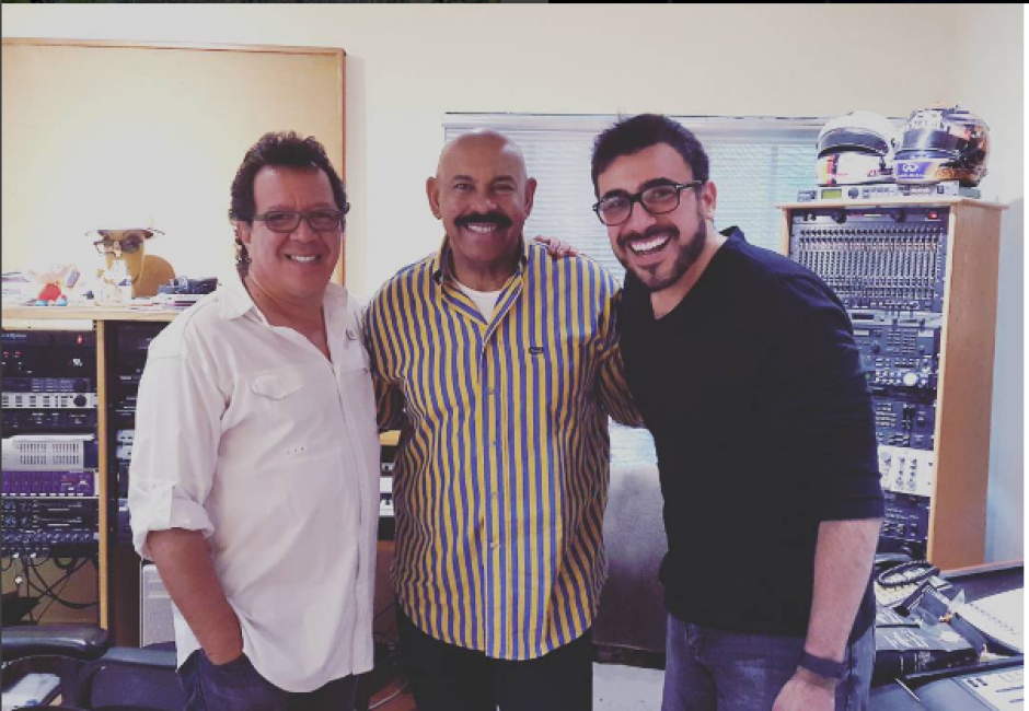 """Oscar D'León colaboró con Malacates para hacer una nueva versión de la canción """"Preciosa"""". (Foto: Instagram Francisco Páez)"""