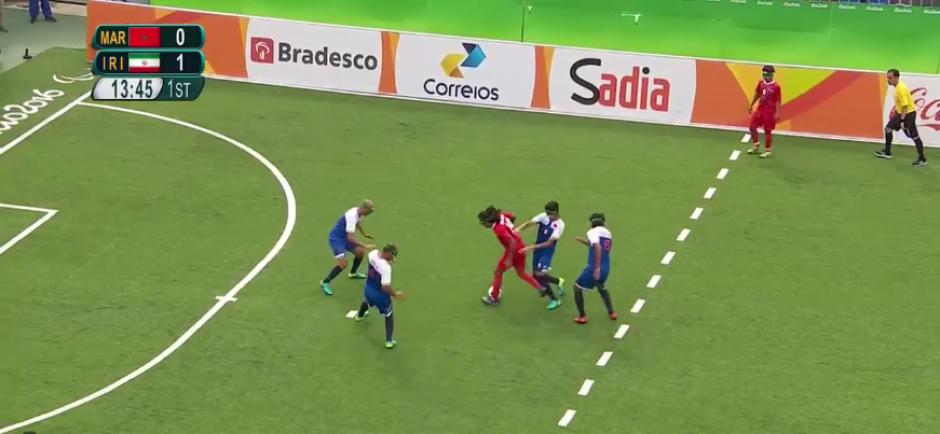 Irán derrotó a Marruecos 2-0 en el inicio del torneo. (Captura de Pantalla)