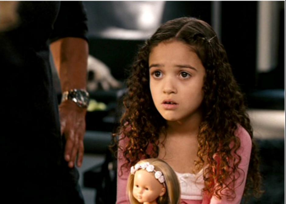 En esa cinta interpreta a la pequeña Peyton. (Foto: childstarlets.com)