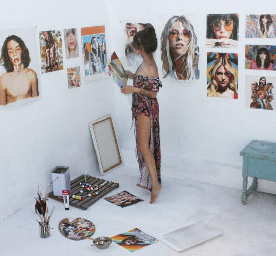 Estas fotos de Thani Mara son muy cotizadas en el mundo del arte. (Foto: Instagram)