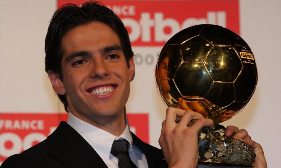Kaká fue el último en ganar que no fuera CR7 o Messi. (Foto: 101greatgoals.com)