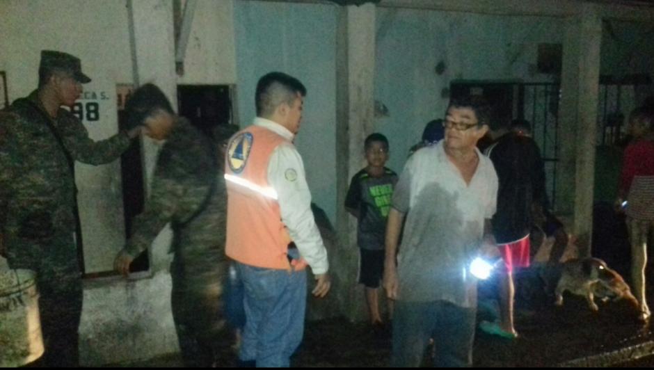 El sistema de emergencia se activó en Mazatenango. (Foto: Conred)