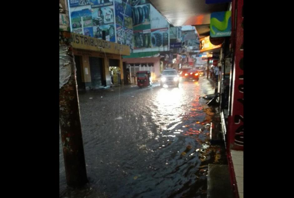Varias localidades de Mazatenango sufrieron daños. (Foto: Conred)