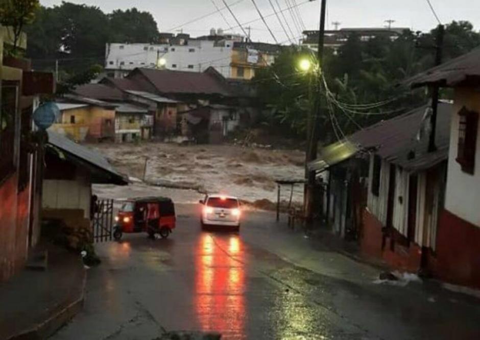 Las lluvias han causado daños en varios municipios. (Foto: Ejército de Guatemala)