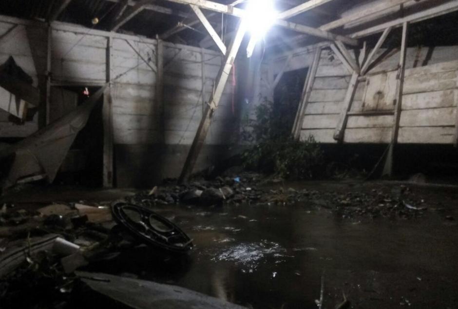 Elementos del Ejército de Guatemala acudieron a las zonas afectadas. (Foto: Ejército de Guatemala)
