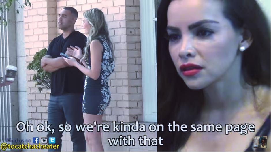 Victoria pone a prueba a su novio para saber si él la engañaría. (Captura Youtube)