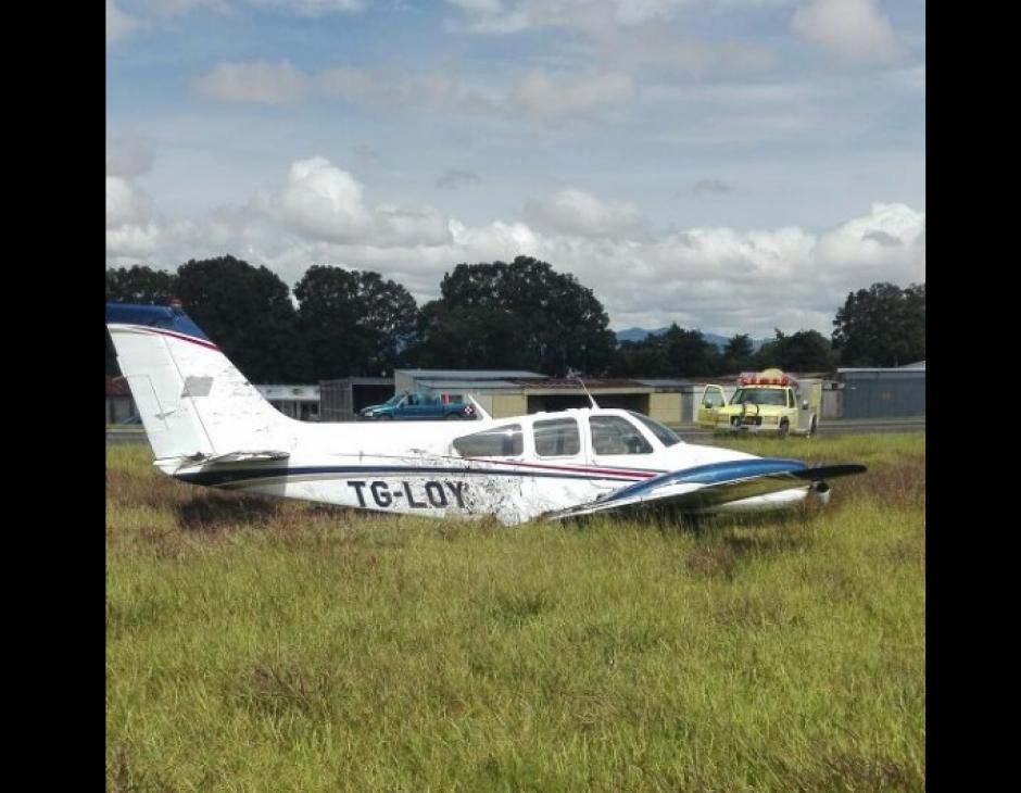Las seis personas a bordo no sufrieron heridas.  (Foto: DGAC)