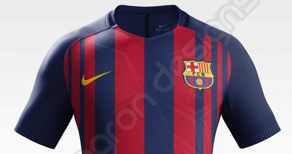 Así sería la próxima camisa del club catalán. (Foto: Mundo Deportivo)