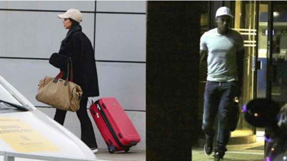 Imágenes de ambos en el hotel Hilton. (Foto: Instagram)