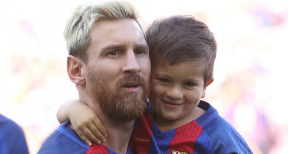 Leo Messi con Thiago, esta temporada (Foto: Pep Morata, MD)