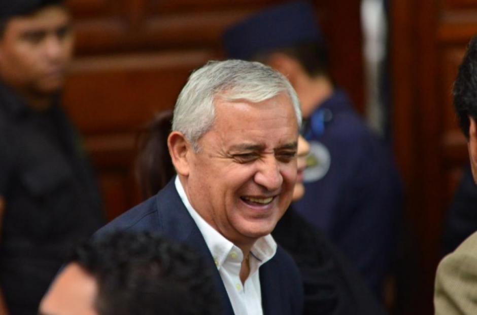 La defensa del expresidente Otto Pérez logró que se separara al juez titular de Extinción de Dominio de los procesos en su contra. (Foto: Archivo/Soy502)