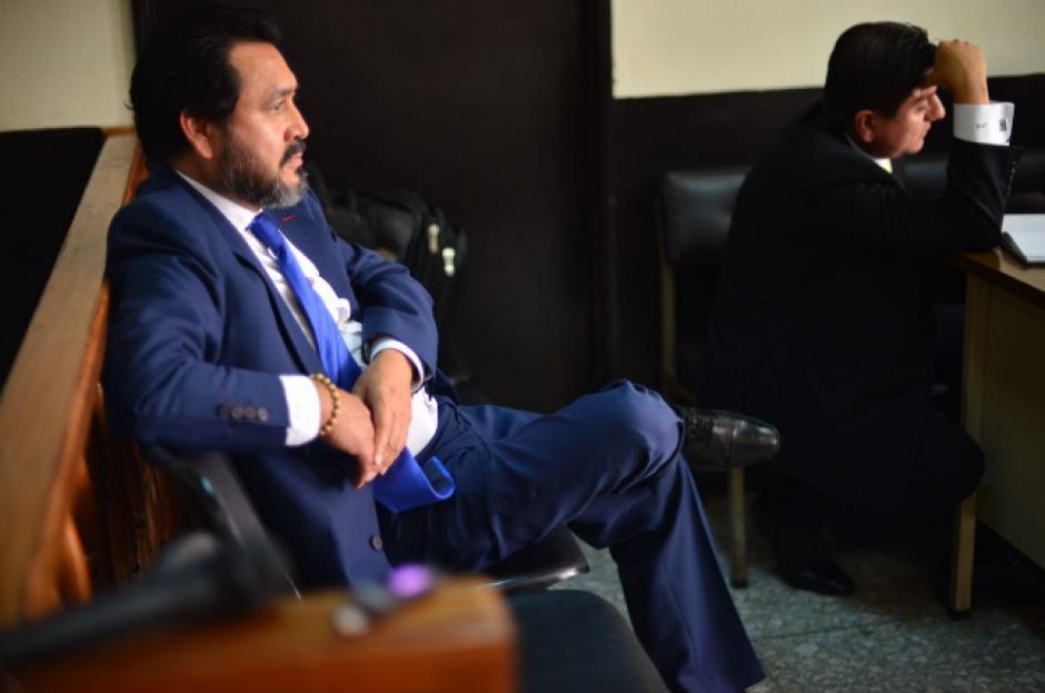 El expresidente del Congreso, Gudy Rivera, es señalado de incurrir en tráfico de influencias y cohecho pasivo. (Foto: Jesús Alfonso/Soy502)