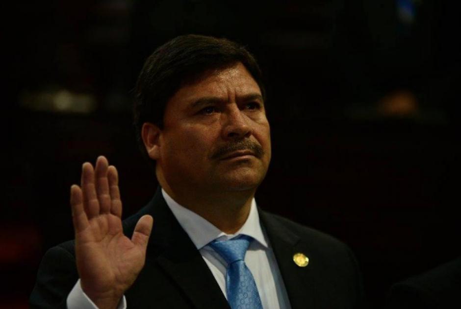 El magistrado Ranulfo Rafael Rojas asumió la Presidencia de la CSJ en octubre de 2015. (Foto: Archivo/Soy502)