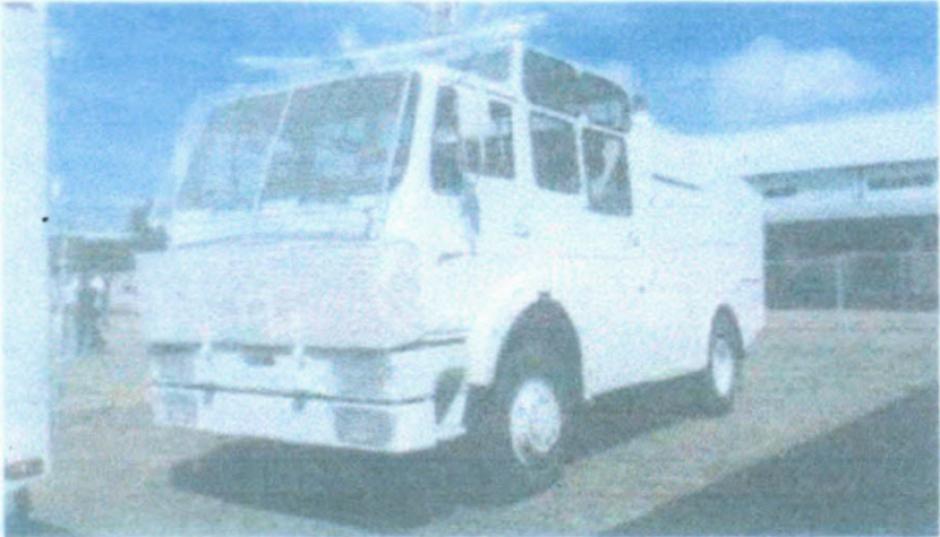 El ministerio de Defensa aún no decide que va hacer con el camión. (Foto: Ejercito de Guatemala)