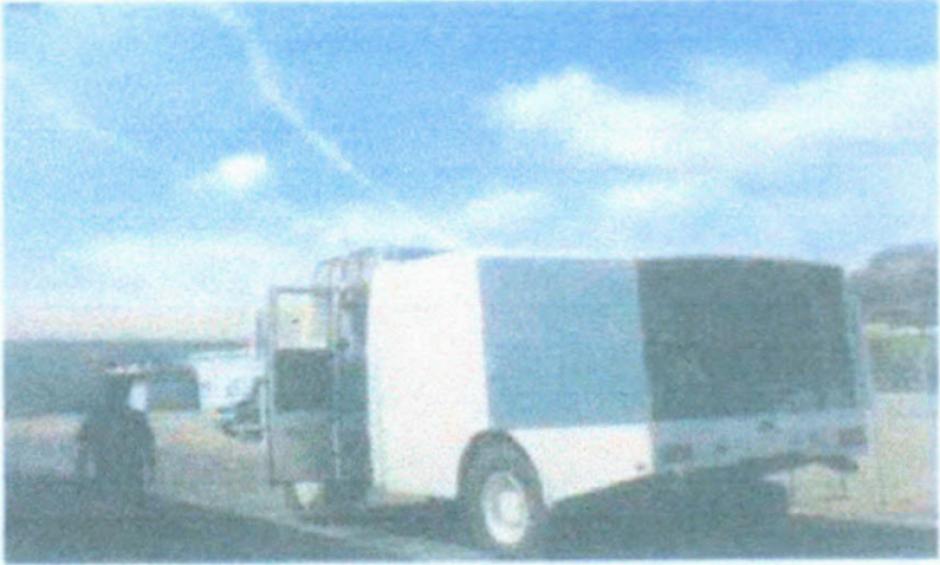Esta camión permanecía inutilizado desde hace años. (Foto: Ejercito de Guatemala)