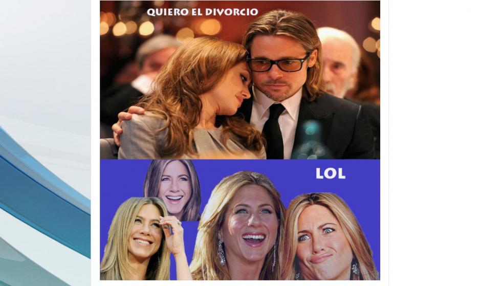 Así recibió Twitter la noticia del divorcio. (Foto: mundotkm.com)