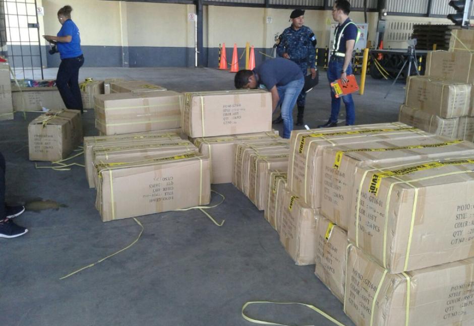 Estos productos fueron decomisados en el operativo. (Foto: MP)
