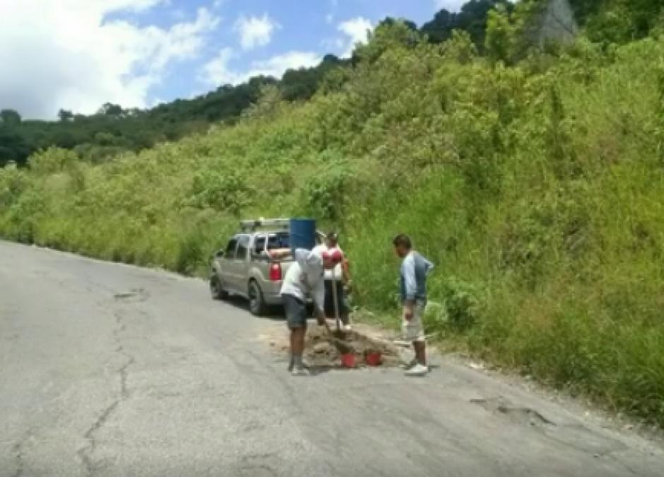 Los recursos utilizados por los vecinos salieron de sus de su bolsillo. (Foto: Pampichi News)