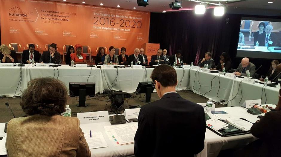 Se desarrollaron reuniones sobre los trabajos contra la desnutrición. (Foto: AGN)