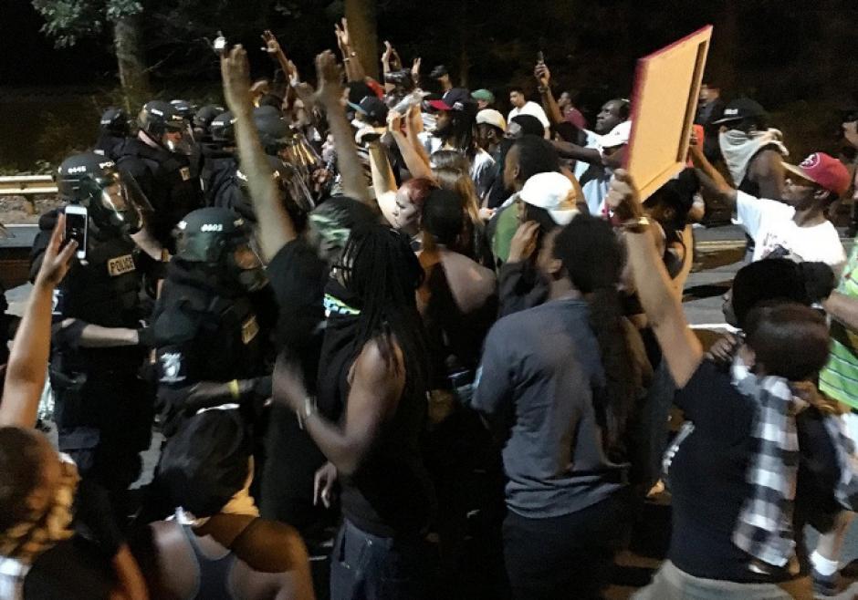 La protesta se comenzó el martes en la noche. (Foto: ABC)