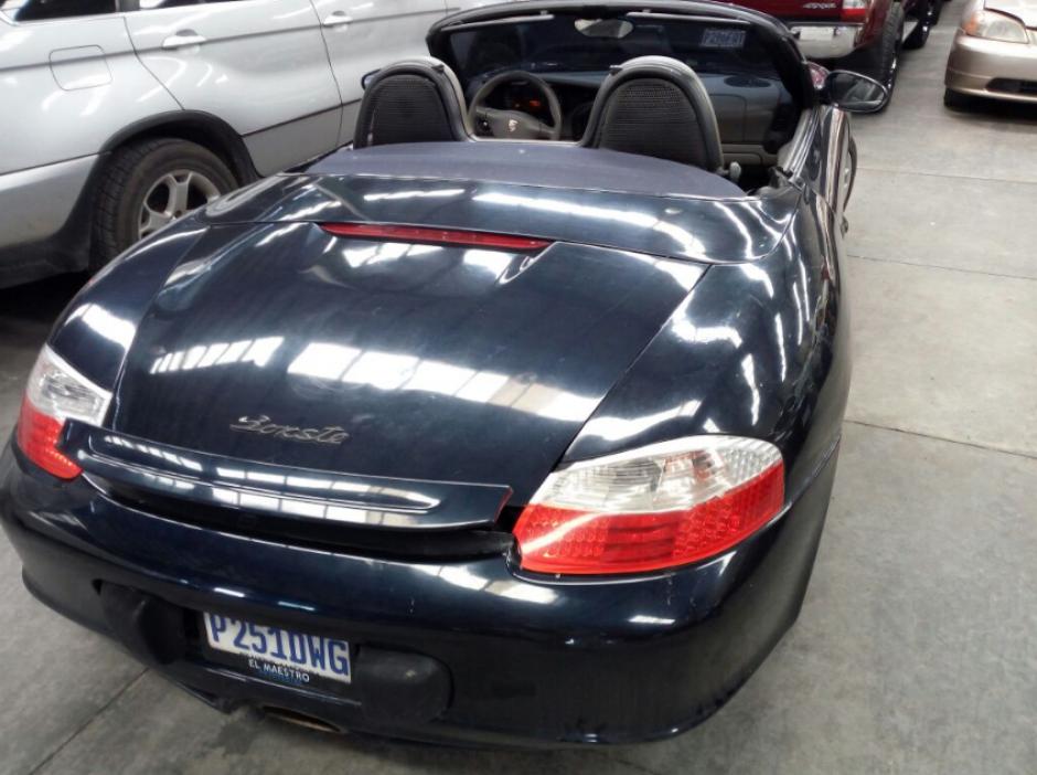 El automóvil fue inmovilizado y aún espera un proceso de extinción de dominio. (Foto: MP)