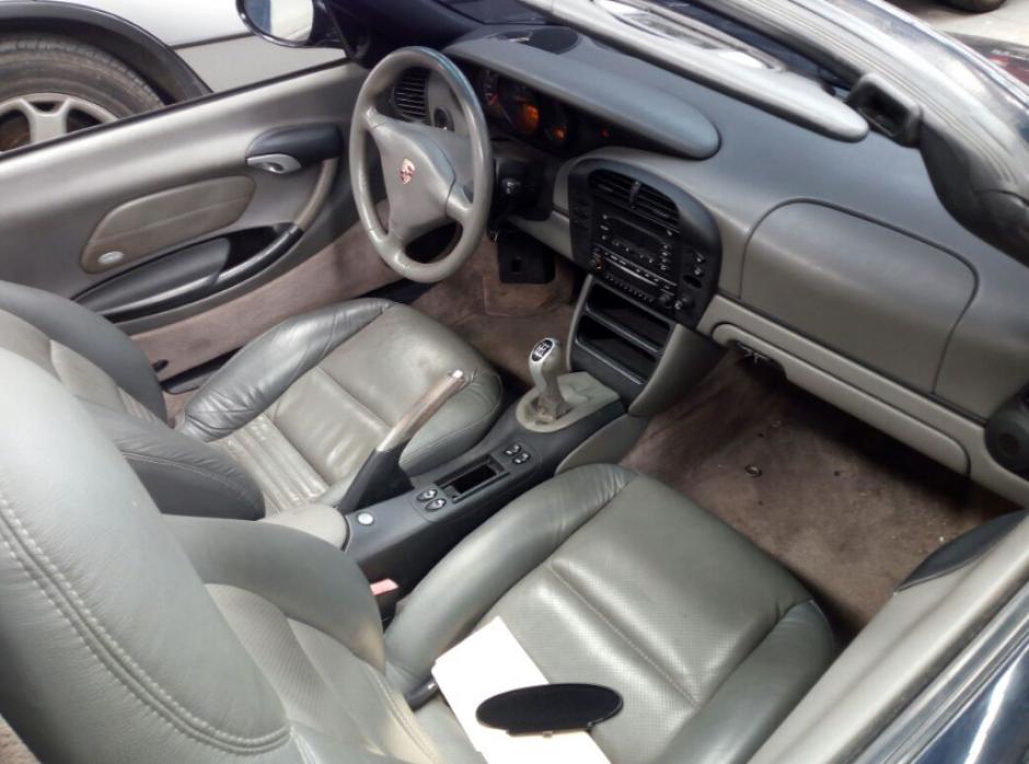 El vehículo es parte de los 41 bienes contra los que el MP solicitó embargo en febrero pasado. (Foto: MP)