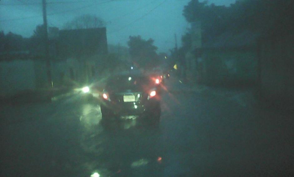 Esto ha causado congestionamiento en varias zonas del país en especial Boca del Monte, Avenida Petapa y Atanasio Tzul. (Foto: Twitter, Dalia Santos)