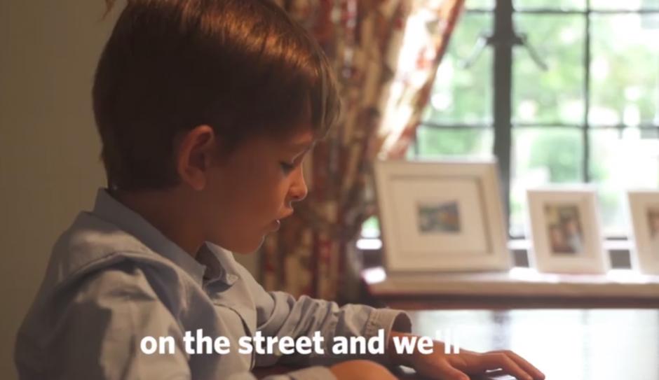 El menor pide a Obama que localice al pequeño para llevarlo a su casa. (Foto: http://altavoz.pe)