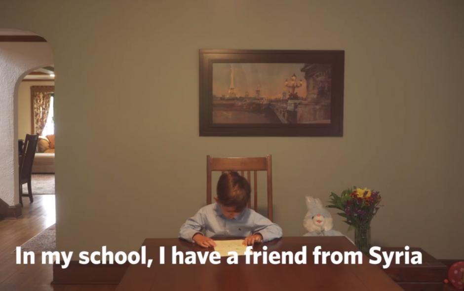 Alex el niño que conmovió al mundo con su carta. (Foto: http://altavoz.pe)
