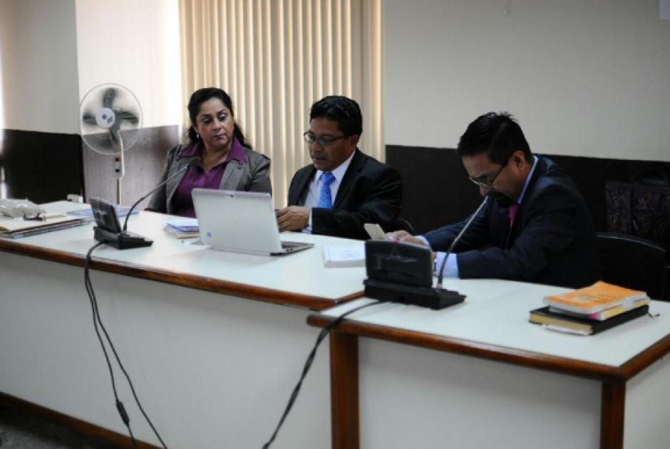 Tanto Reinoso, como su defensa, arremetieron contra los testigos del MP, en especial contra Felicita Romero. (Foto: Archivo/Soy502)