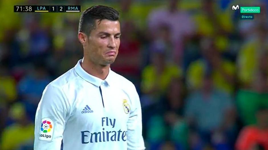 El portugués salió molesto, pero la cosa no terminó allí. (Captura de Pantalla/Movistar Plus)