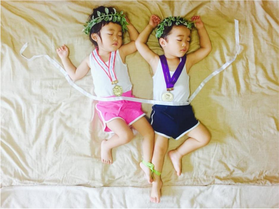 Hay una foto que conmemora las olimpiadas. (Foto: Instagram/@ayumiichi)