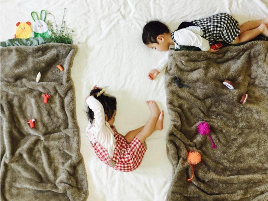 Su madre se inspira para ponerlos es situaciones originales. (Foto: Instagram/@ayumiichi)